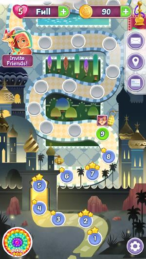 まじっくじゅえるゲームアプリ