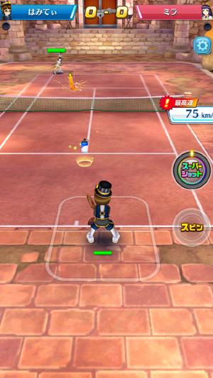 しろねこテニス